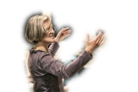 Susanne Evans, Chorleiterin im Wendland
